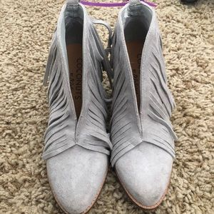 Coconuts by Matisse Fringe Booties
